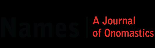 Names: A Journal of Onomastics